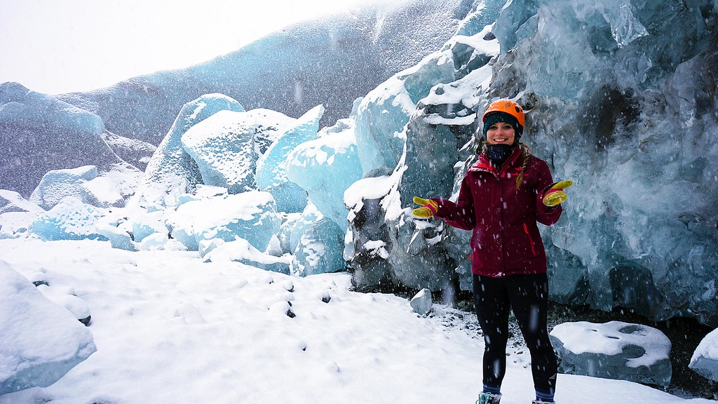 Ashlyn George Ice Caves Photo