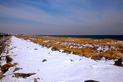 A Winter Day at the Jersey Shore