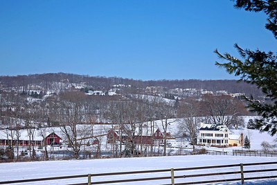 Somerset County in Winter