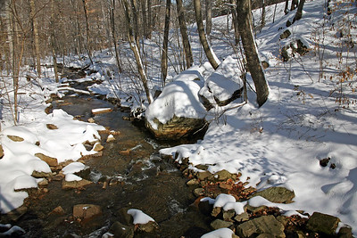 Mountain Stream in the Skylands of New Jersey