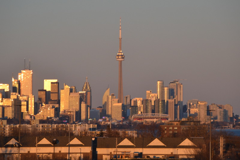 Toronto - Sunset Skyline