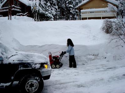 Driveway 01-21-2010