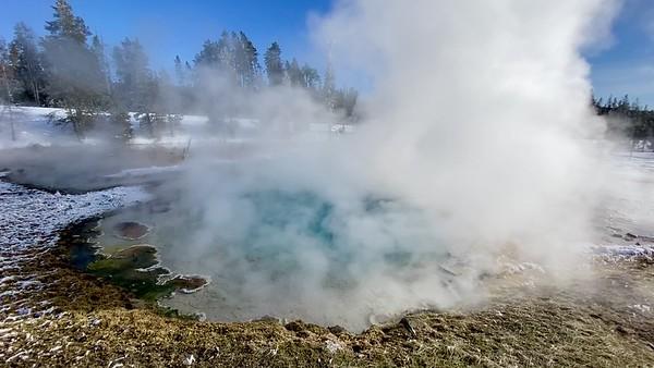 Steamy Silex Spring - video