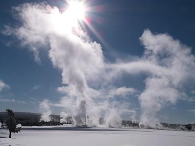 Blue Sky and Steam