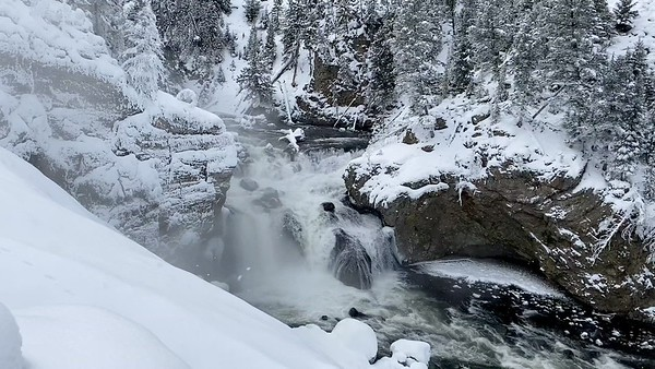 Falls on the Firehole River