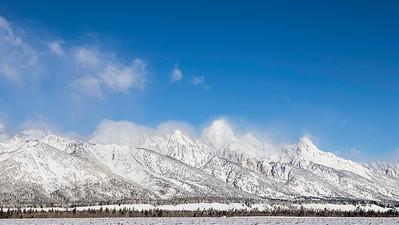 Winter in Yellowstone NP