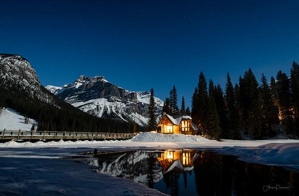 Emerald Lake Moonscape
