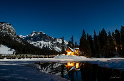 Emerald Lake Moonscape