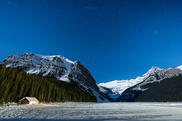 Lake Louise Nightscape
