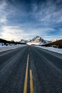 On the Icefields Parkway
