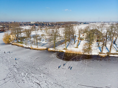 Luchtfoto Hof Souburgh in de winter D2102120698