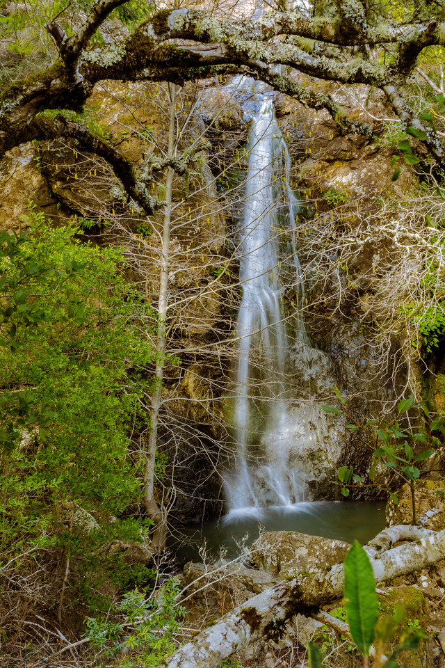 Lower Plunge of Carson Falls