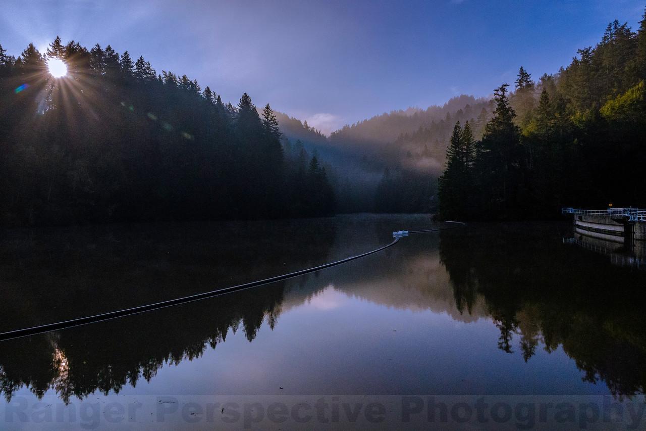 Morning at Alpine Dam