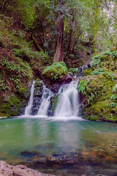 Helen Markt Falls and Pool on Cataract Creek