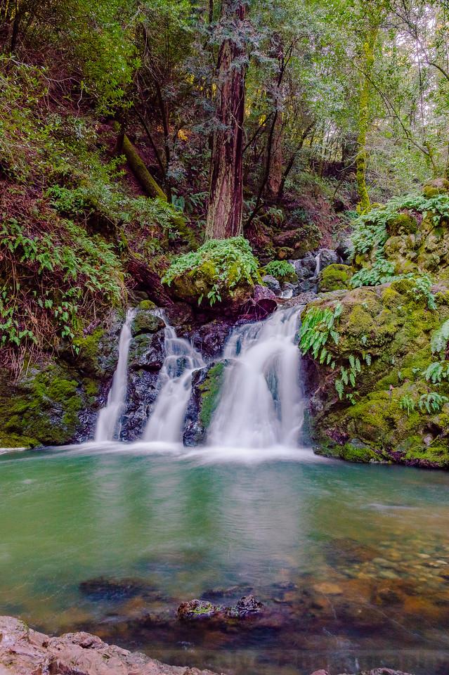 Helen Markt Falls and Pool on Cataract Creek