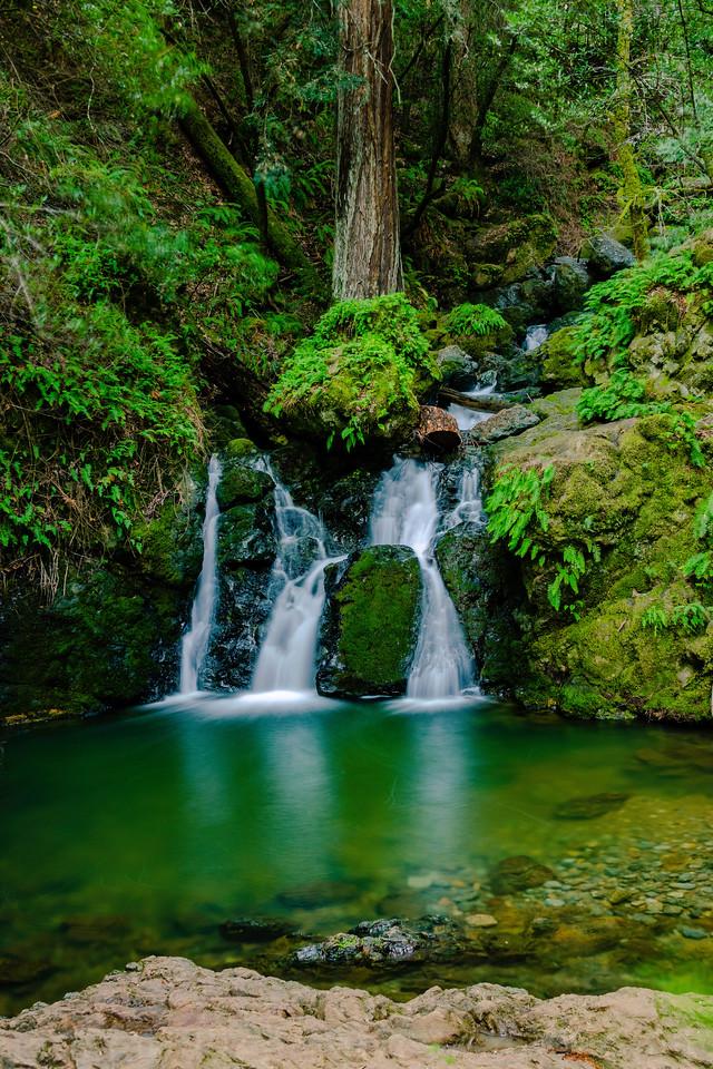 Helen Mart Falls on Cataract Creek