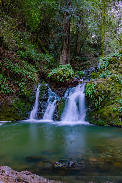 Helen Markt Falls on Cataract Creek