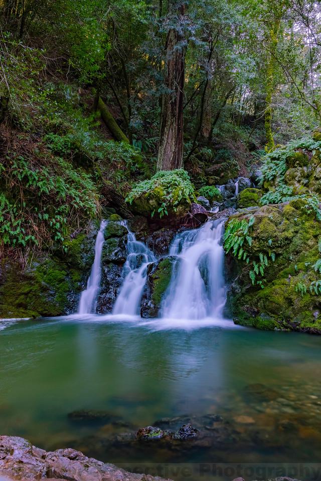 Helen Markt Falls on Cataract Creek