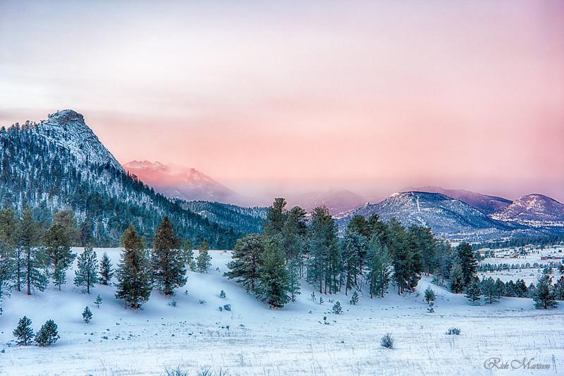 Winter photos of RMNP and Estes