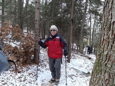 Winter walk in Billerica