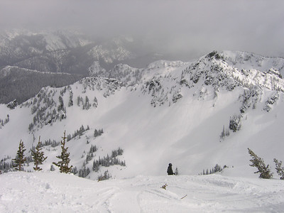 The clouds are rolling in again this afternoon...hopefully bringing more snow