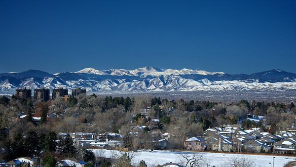 Mt. Evans as Seen From Denver