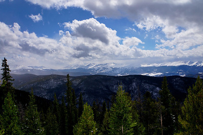 Breckenridge, as seen from Keystone, Colorado.