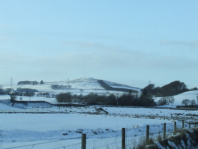 Between Chapel Farm and Burnbank Farm on the B788 between Kilmacolm and Greenock