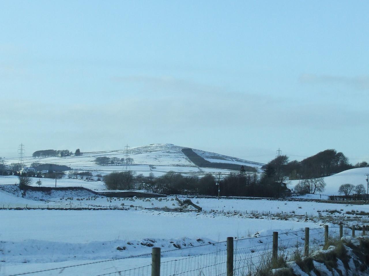 Between Chapel Farm and Burnbank Farm on the B788 between Kilmacolm and Greenock