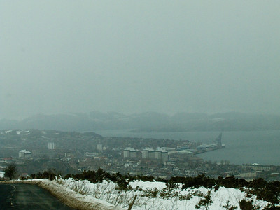 Looking over Greenock