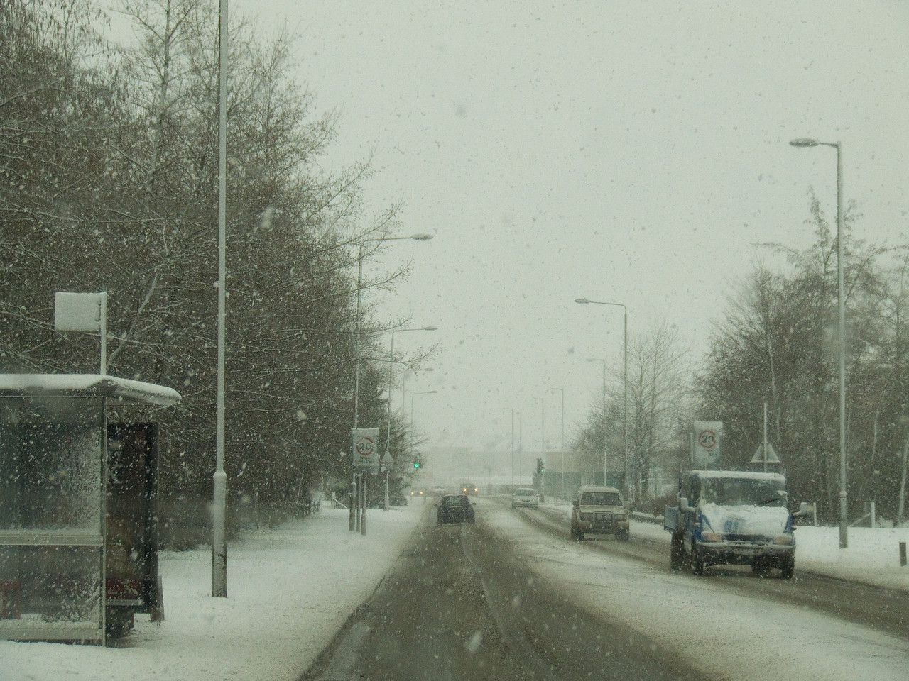 Looking along Beith Road in Johnstone