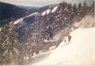 I forget what we used to call this run, but it has this great windlip near the top. Probably sholdn't be sharing snowbowl secrets anyway.