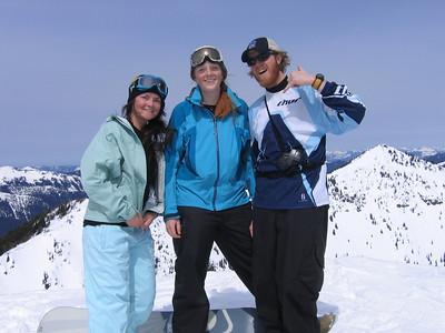 Blue is good!!!!!! Emma, Vida and Jesse