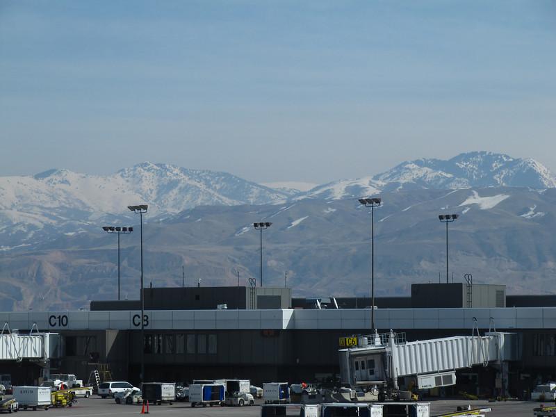 Salt Lake awaiting flight to Hailey