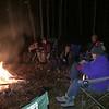 Campfire at DarWood's 12/12/15, and celebrated Betsy's birthday.