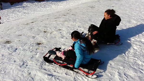 Winter Sledding: 2.10.13