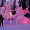This massive ice sculpture at the World Ice Art Championships in Fairbanks, Alaska, demonstrates how intricately detailed and larger-than-life these beautiful sculptures can be.