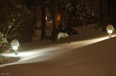 December 2009 Snowfall