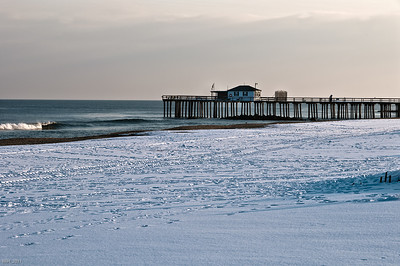 Fishing Pier in Ocean Grove  Jan 2011