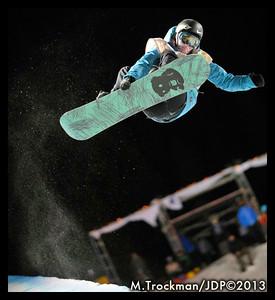 Greg Bretz (USA) - FIS World Cup Halfpipe - Night Training - Copper Mtn, CO - 20 Dec, 2013 - photo: M.Trockman/JDP©2013