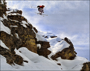 Big mountain pro Michael Goulette • Berthoud Pass (Colorado) backcountry • 2004