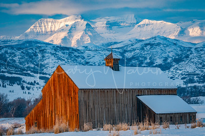 Icons of Heber Valley:  Timpanogos and the Tate Barn