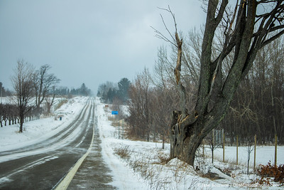 Winter on Center Road