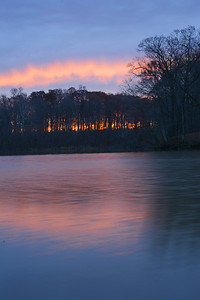 Sunrise at Bischoff Reservoir
