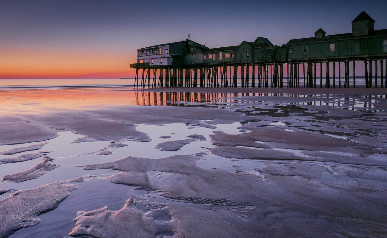 Old Orchard Beach Pier sunrise