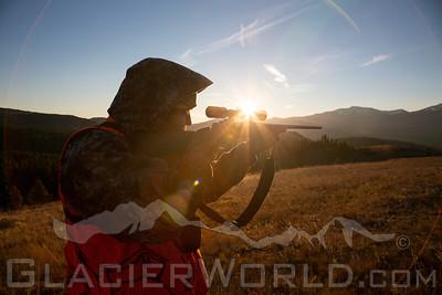Fall hunting in Montana
