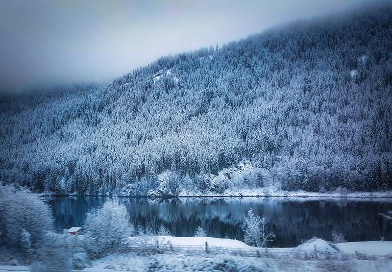 Winter In Blue