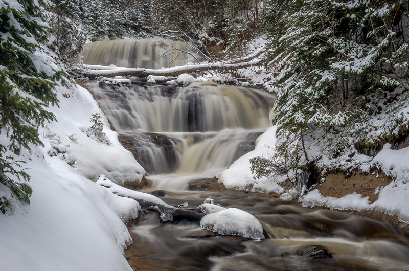 Winter at Sable Falls