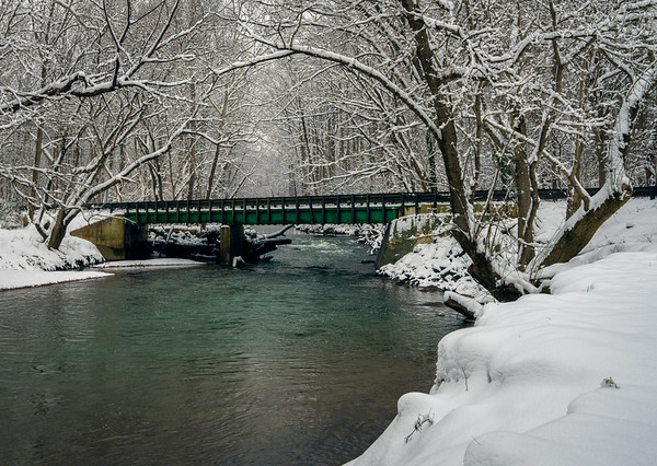 Bridge Over Snowy Creek