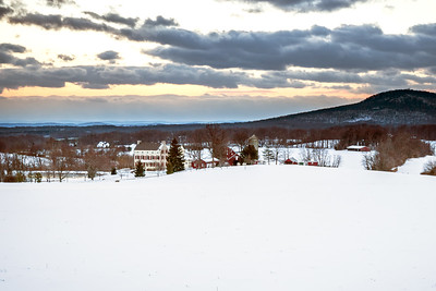 Winter Afternoon in the Country